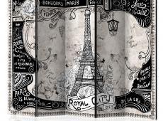 Paraván - Bonjour Paris II [Room Dividers]